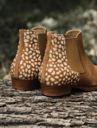 Chelsea boots - Biche cognac