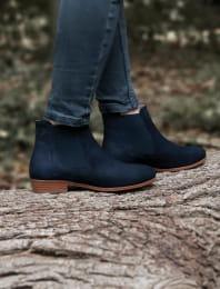 Chelsea boots - Bleu pailleté