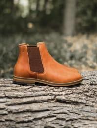 Chelsea boots - Acajou