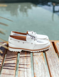White Bateau shoes
