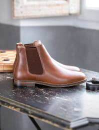 Chelsea boots - Havane