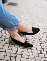 Slippers - Noir graphique