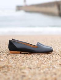 Slippers - Noir pailleté
