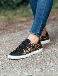 Sneakers - Black Full Biche