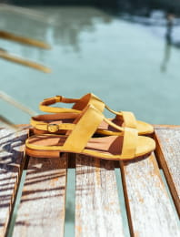 Eglea Sandals - Mustard