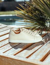 Sneakers - Cream