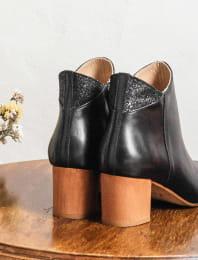 Triangle heel - Black