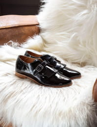 Buckle Derbies - Black