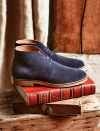 Desert Boots - Bleu