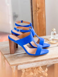 Gabie heeled sandals - Lagon
