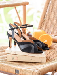 Claudia heeled sandals - Black