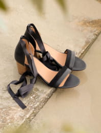 Nila heeled sandals - Black