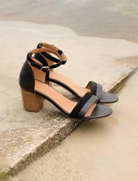 Nila heeled sandals - Black