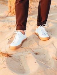 Sneakers Miel - Blanc