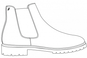 Commando Chelsea Boots