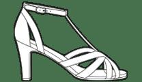 Sandales Carmen