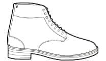 Combat Boots à Crochets