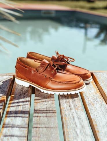 Chaussures Bateau - Acajou
