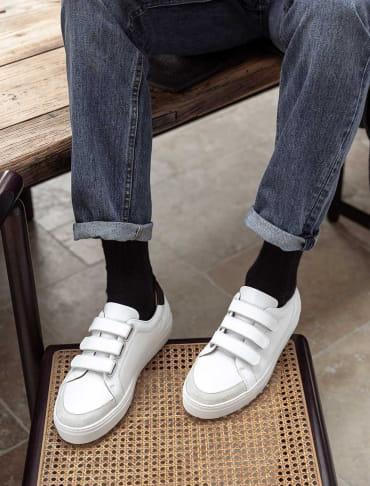 Sneakers - Blanc et noir