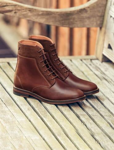 Combat boots - Bourgogne