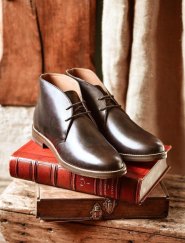 Desert Boots - Chocolat