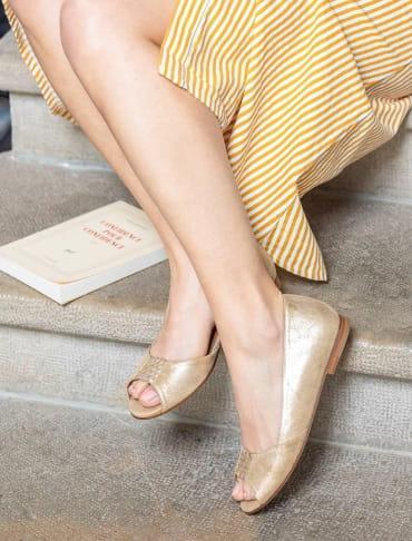 Luciana sandals - Gold