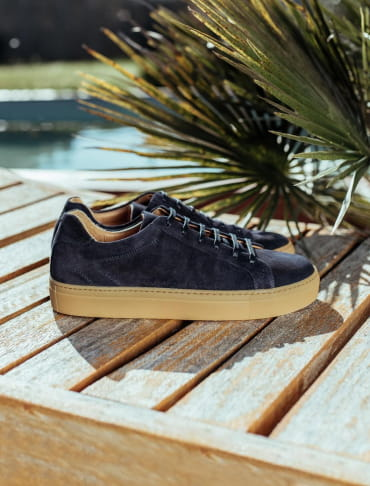 Sneakers Miel - Bleu nuit