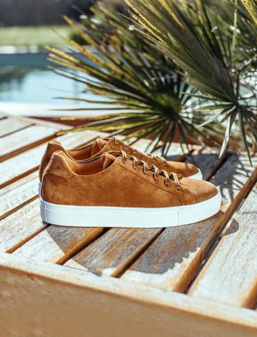 Sneakers - Fauve