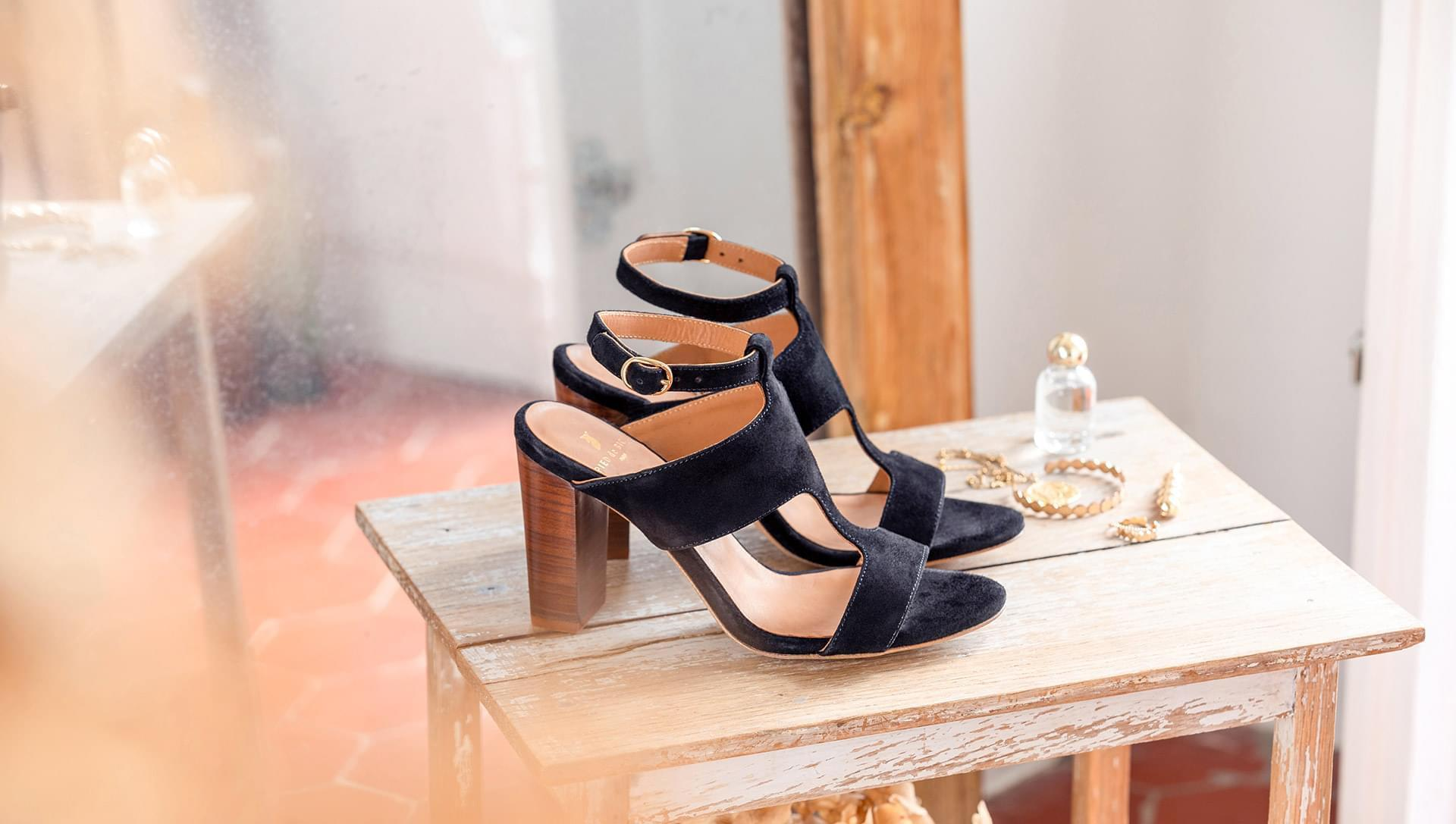 Gabie heeled sandals - Black