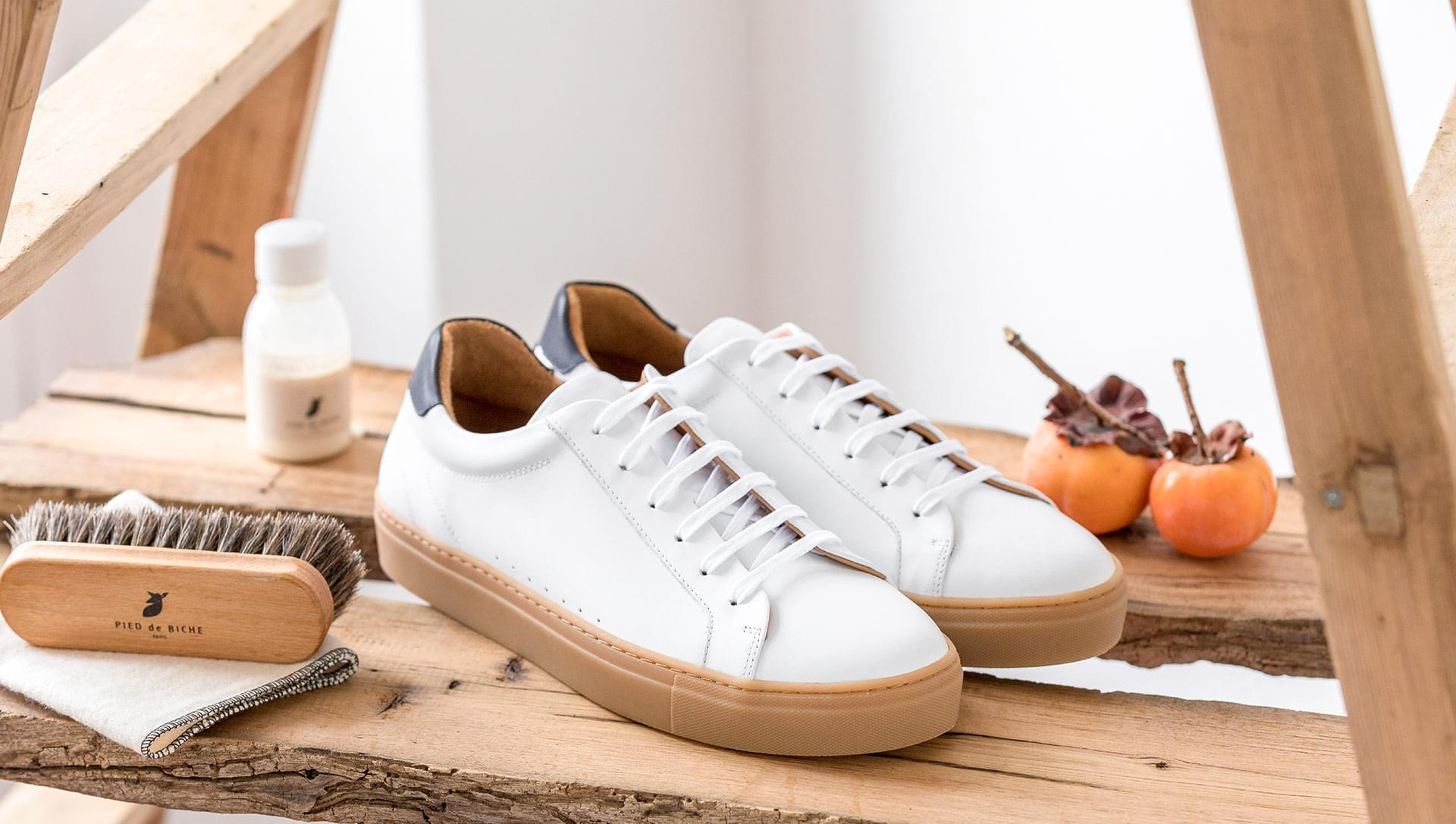Honey Sneakers  - White and blue