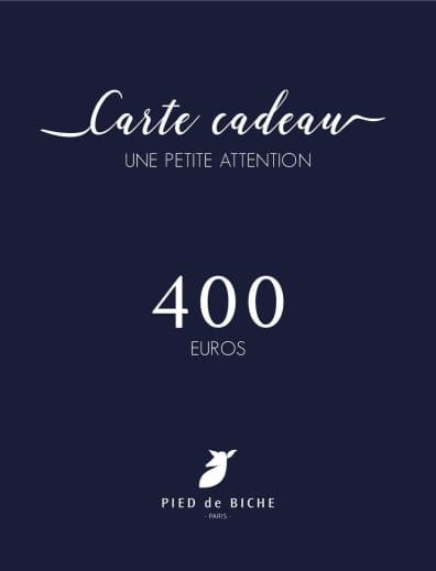 Gift card 400 euros