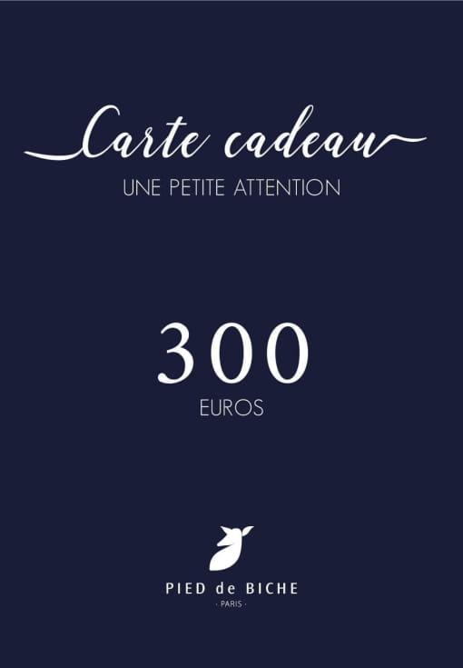 Gift card 300 euros