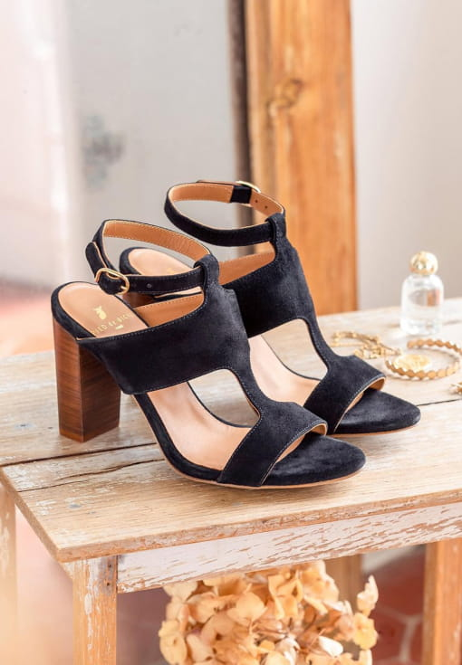 Gabie heeled sandals - Black