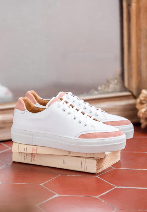 Sneakers Suzanne - Peach