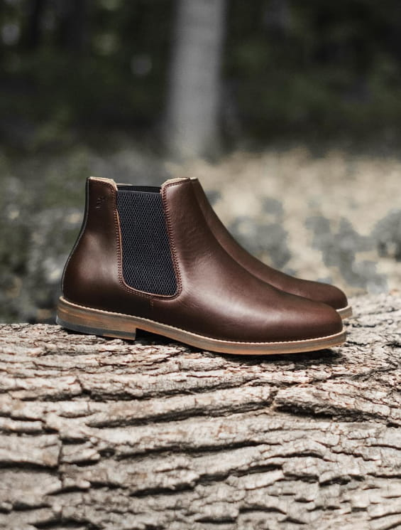 Chelsea boots Chocolat