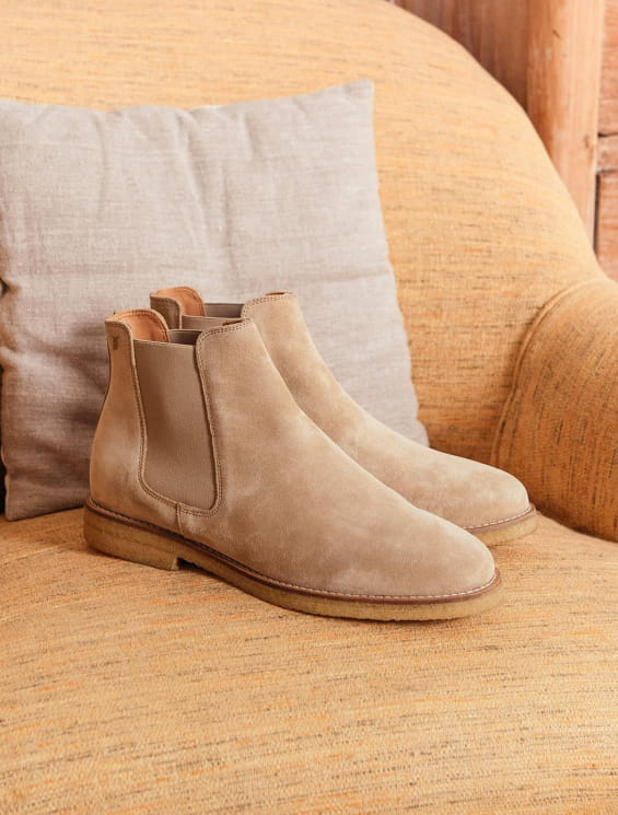Chelsea Boots - Sand