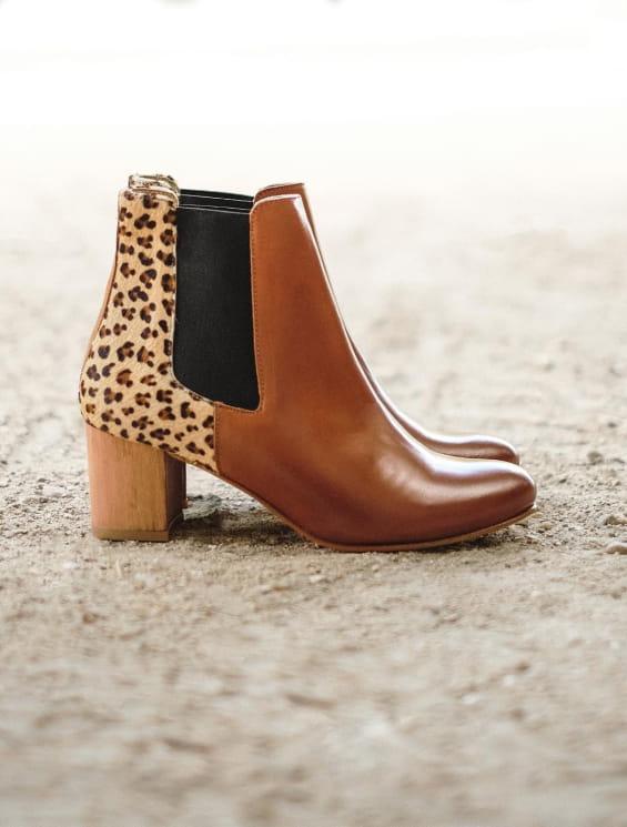 Chelsea heel - Leopard