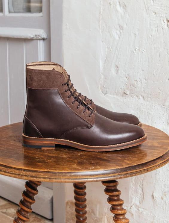 Combat boots - Chocolate