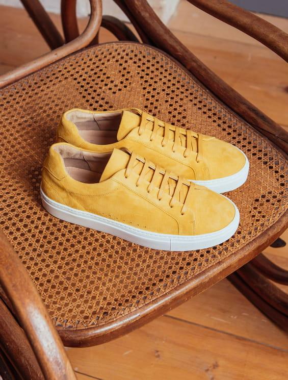 Sneakers - Mustard