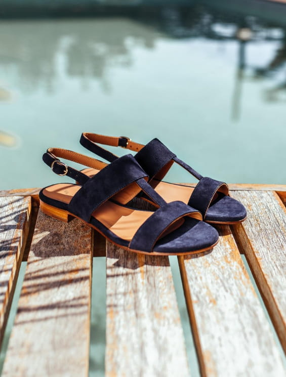 Eglea Sandals - Night Blue