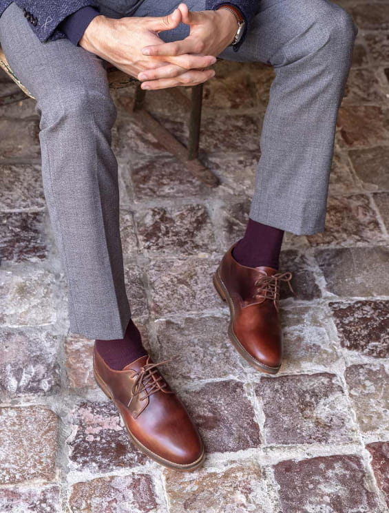 Derbies - Burgundy