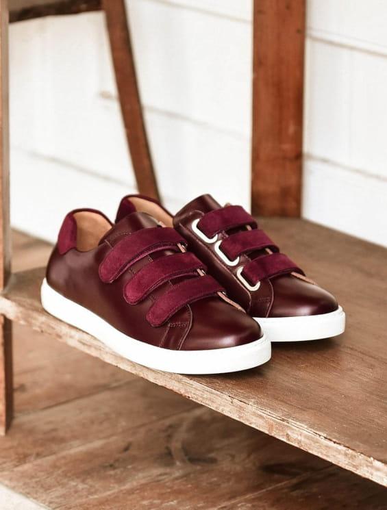 Sneakers - Burgundy