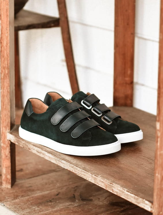 Sneakers - Vert sapin