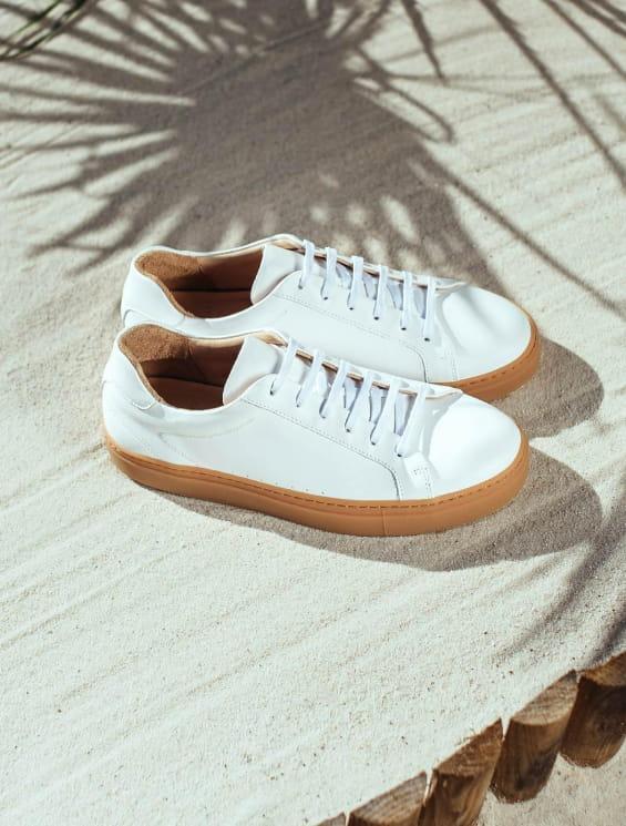 Sneakers Honey - White