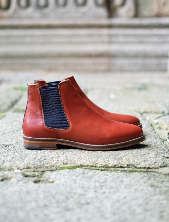 Chelsea boots Terre de feu
