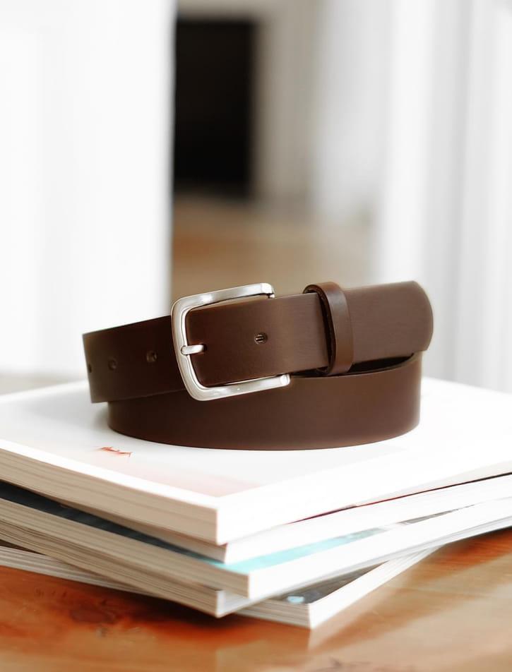 Raw belt man - Brown
