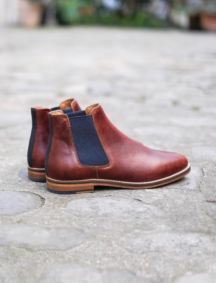 Chelsea boots - Burgundy