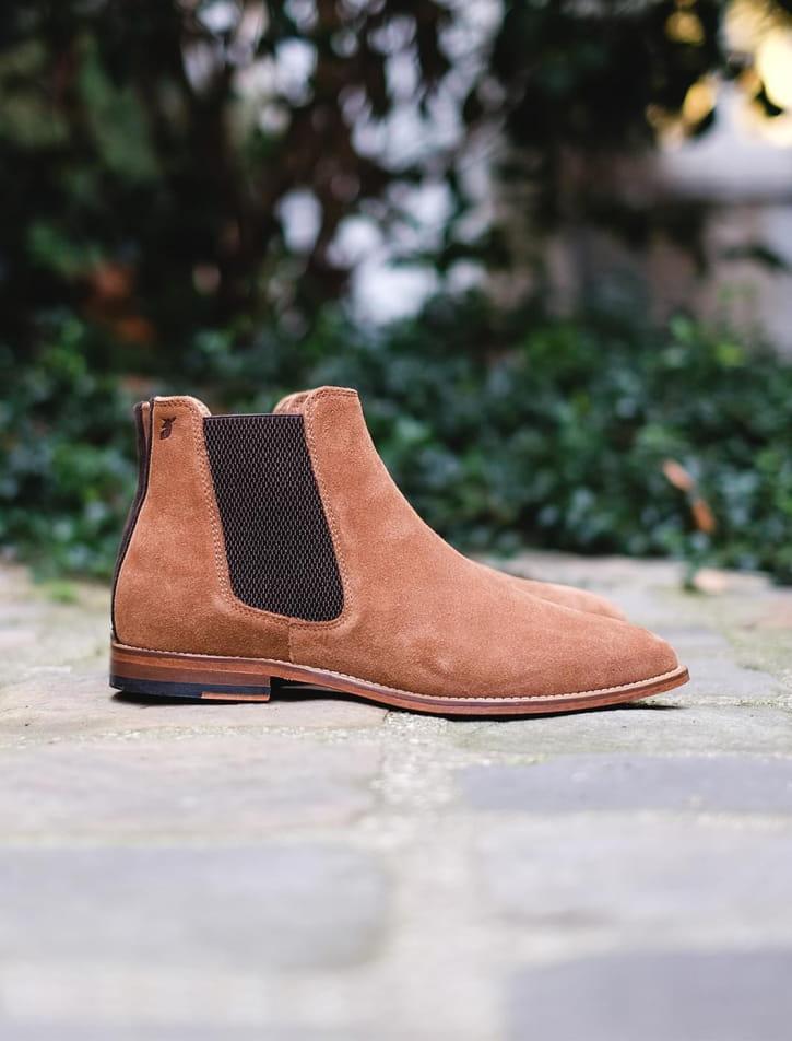Chelsea boots - Fauve
