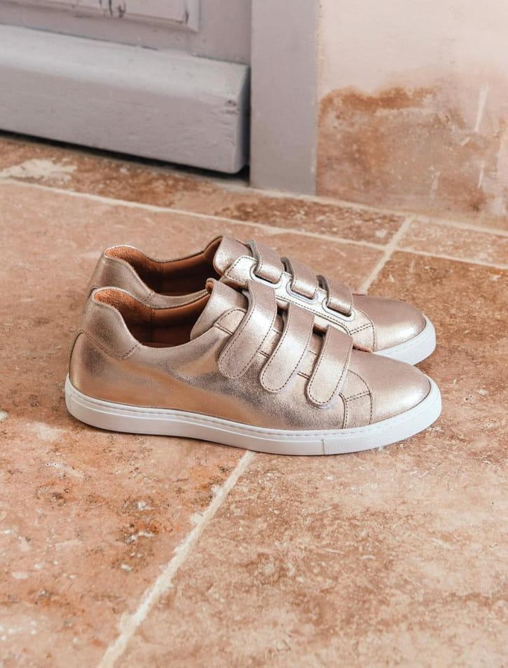 Sneakers - Doré