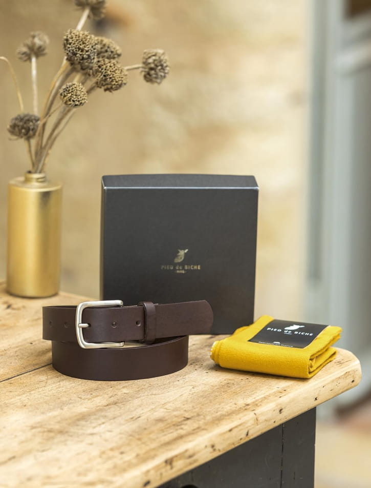 Christmas gift box - Belt and socket
